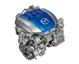 Бензиновый двигатель Mazda